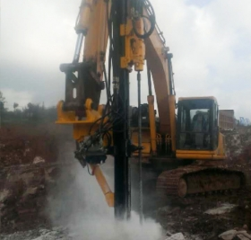 挖改凿岩机案例