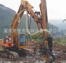 北京挖掘机改钻机